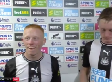 The Longstaff brothers (screengrab).