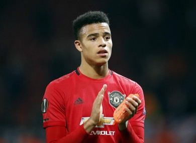 Greenwood has committed his long-term future to United.