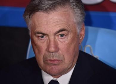Carlo Ancelotti (file pic).
