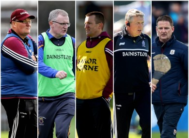 Ward, Lohan, Forde, Moloney and Larkin all in the running for key manager posts.