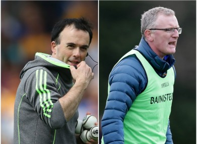 Louis Mulqueen and Brian Lohan had been confirmed as nominees for the Clare job on Monday night.