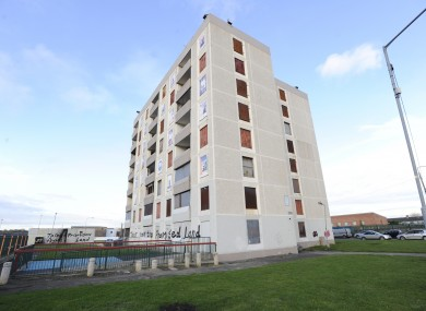 St. Michael's Estate in Inchicore ahead of its redevelopment (file photo)