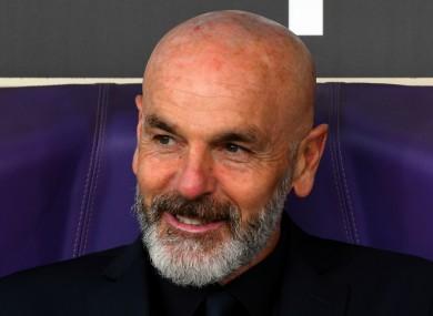 Stefano Pioli, who has taken over at AC Milan.