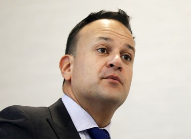 Varadkar speaking at the Immigrant Council of Ireland Integration and Inclusion Conference.