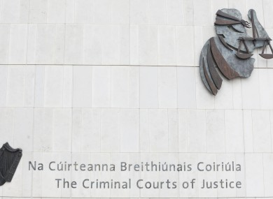 File photo of the Criminal Courts of Justice in Dublin city.