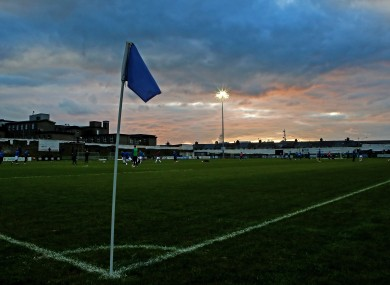 A view of Limerick's home ground, Markets Field.