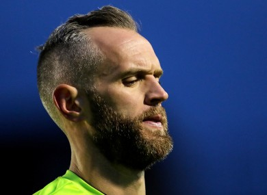 Shamrock Rovers goalkeeper Alan Mannus (file pic).