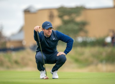 Rory McIlroy (file pic).