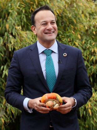 Taoiseach Leo Varadkar at the Climate Action Plan progress report last week.