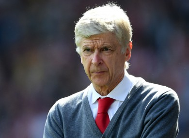 Former Arsenal boss Arsene Wenger.