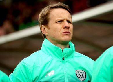 Ireland U17 boss Colin O'Brien [file pic].
