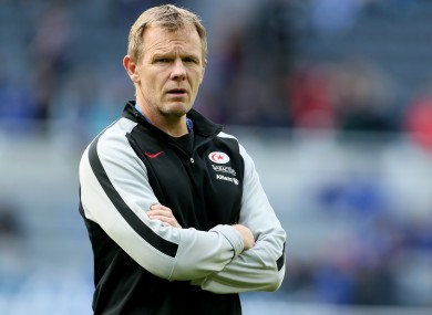 Saracens' director of rugby Mark McCall.