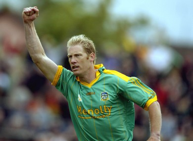 Geraghty was one of the stars of Meath GAA.