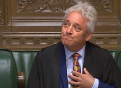 John Bercow's successor will be elected today.