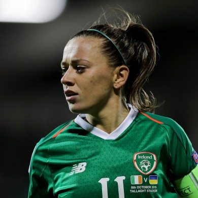 Captain Katie McCabe will be hoping to lead Ireland to another victory.