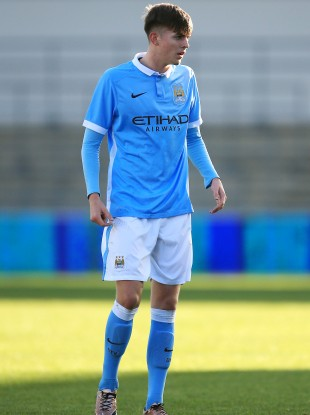 Patching spent 14 years at Manchester City's academy.