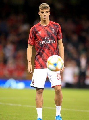 AC Milan's Daniel Maldini (file pic).