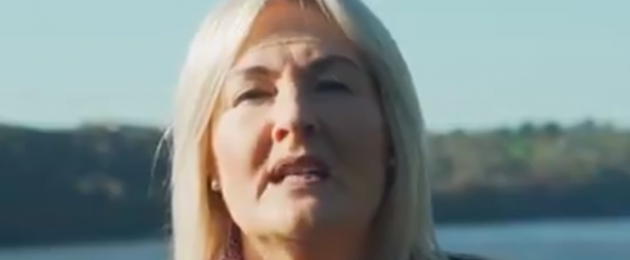 A screengrab from Verona Murphy's campaign video.