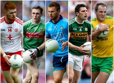 McShane, Durcan, McCaffrey, Moran and Murphy are amongst the winners.
