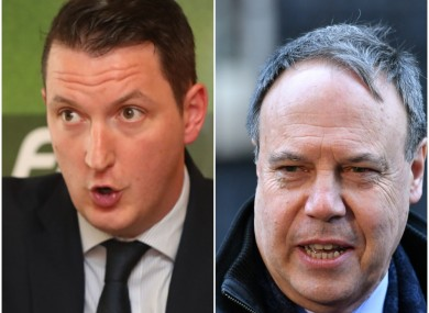 The race in Belfast North will be Nigel Dodds and John Finucane.