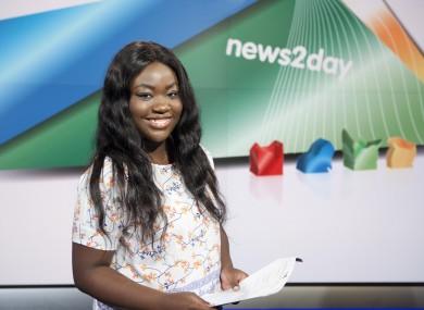 RTÉ presenter Zainab Boladale.
