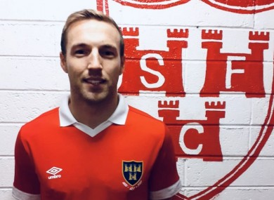 Sheppard in Shels' new home jersey.