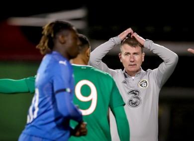 Ireland U21 boss Stephen Kenny.