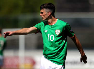 Troy Parrott has regularly impressed for Ireland at underage level.