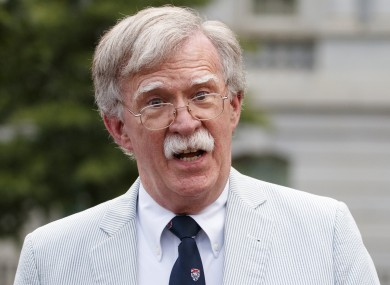 Former national security adviser John Bolton failed to show up.
