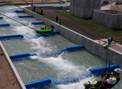 Image of another white water rafting facility submitted by DBF who support the plans.