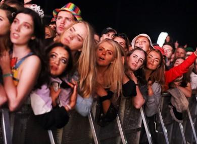 Fans of Hozier at last year's festival in Stradbally.