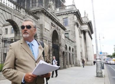 Ian Bailey leaving the Court of Appeal in 2017.