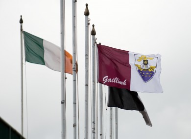 A general view of the Galway flag (file pic).