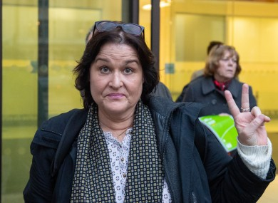 Amy Beth Dalla Mura pictured leaving Westminster Magistrates' Court, London, 20 November.