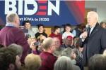 Joe Biden in heated exchange with voter in Iowa yesterday.