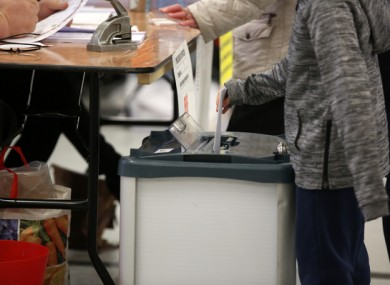 Voter turnout was low at the by-elections on Friday.