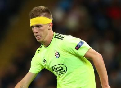 Dinamo Zagreb winger Dani Olmo.