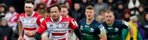 Cipriani swings it as Connacht suffer four-try loss in Gloucester