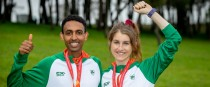 Efrem Gidey and Stephanie Cotter both landed individual bronzes for Ireland.