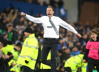 Duncan Ferguson will be in charge of Everton against Arsenal.