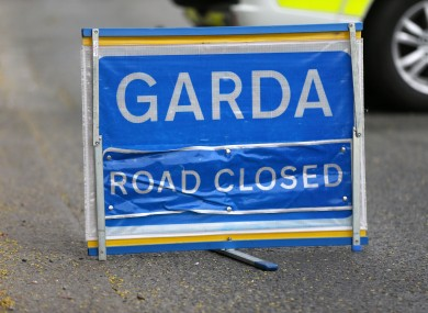 The road at Carrowmanagh was briefly closed.