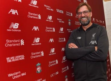Jurgen Klopp is staying at Anfield.