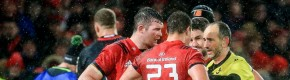 Munster's Arno Botha suspended for three weeks after red card against Saracens