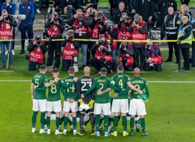 Ireland play Slovakia in their bid to qualify for Euro 2020.