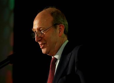 Minister Shane Ross.