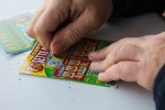 File photo of scratch cards.
