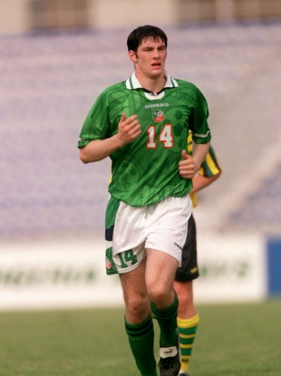 Richie Sadlier pictured playing at the World Youth Championships in 1999.