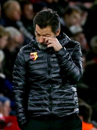 Sanchez Flores: second spell lasted just 10 league games.