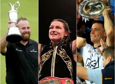 Shane Lowry, Katie Taylor and Stephen Cluxton are all still in the running.