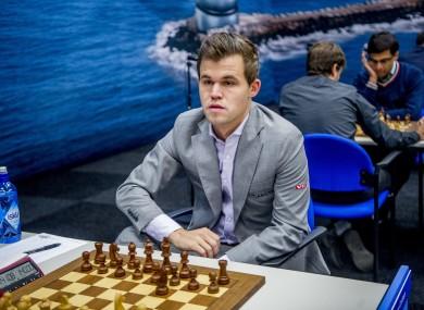Norwegian chess player Magnus Carlsen (file pic).